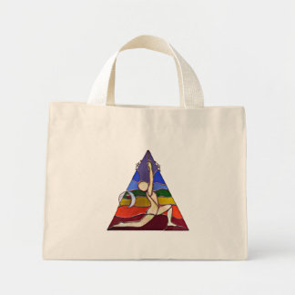 Crescent Moon Tote Canvas Bags
