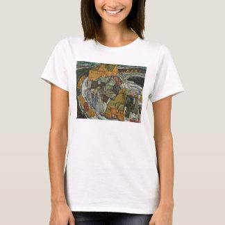 Crescent of Houses II, Island Town by Egon Schiel T-Shirt