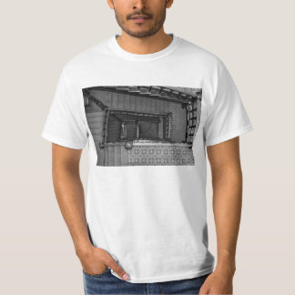 Crescent Stairwell Grayscale T-Shirt
