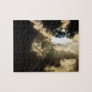 Crescent Sun during Solar Eclipse Jigsaw Puzzle