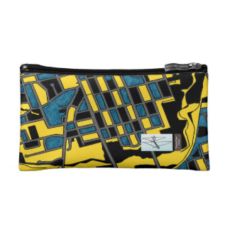 Crescent Town, Toronto Cosmetic Bag