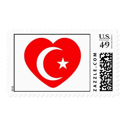 Crescent Valentine Stamps