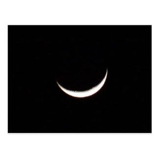 Crescent Winter Moon Postcard
