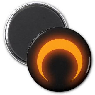 Cresent 2 Inch Round Magnet