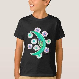 cresent moon goddess T-Shirt