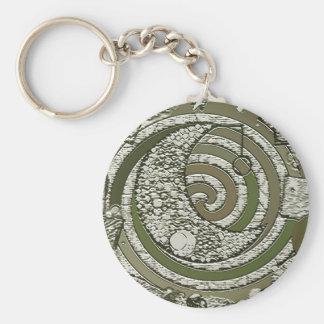 cresent moon keychain