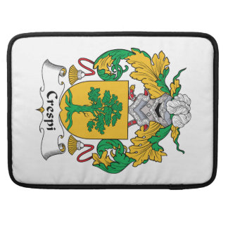 Crespi Family Crest Sleeves For MacBook Pro