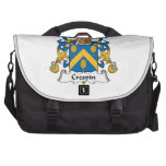 Crespin Family Crest Bag For Laptop