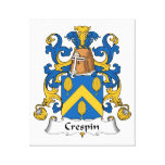 Crespin Family Crest Canvas Prints