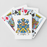 Crespin Family Crest Deck Of Cards