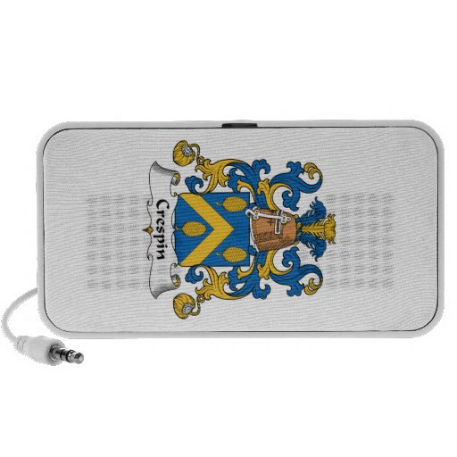 Crespin Family Crest Portable Speakers