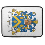Crespin Family Crest Sleeves For MacBooks