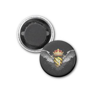 Crest Emblem by Street Justice 1 Inch Round Magnet