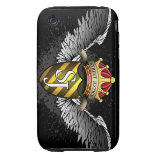 Crest Emblem by Street Justice Tough iPhone 3 Cover