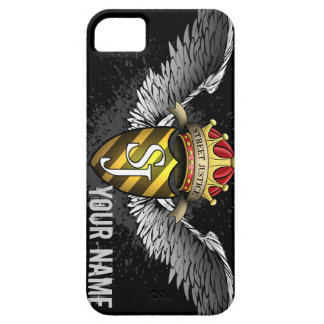 Crest Emblem Personalized by Street Justice iPhone 5 Cover