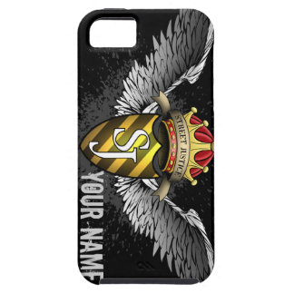 Crest Emblem Personalized by Street Justice iPhone 5 Covers