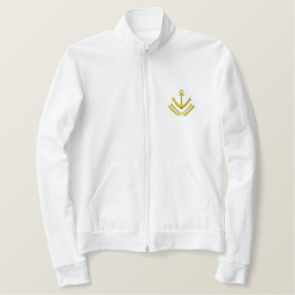 Crest Embroidered Jacket
