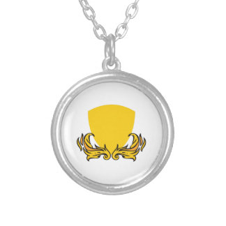 CREST FOR INITIALS PERSONALIZED NECKLACE