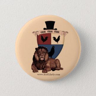 Crest Friend Pinback Button