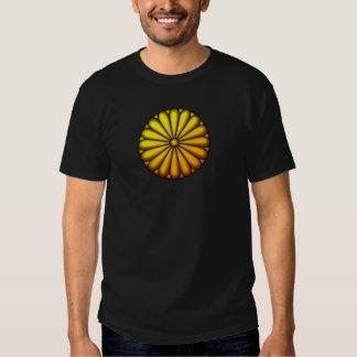 Crest of chrysanthemum tee shirt