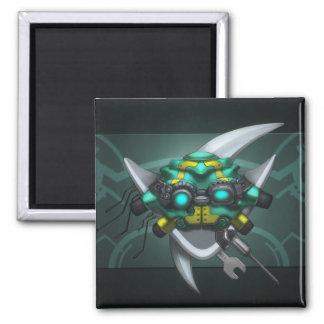 Crest Of Elitism 2 Inch Square Magnet