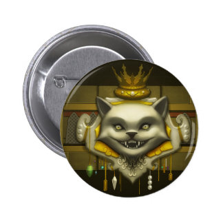 Crest Of Greed Pinback Button