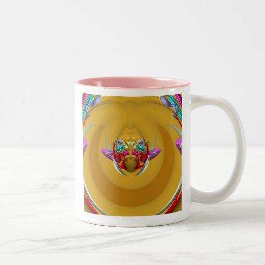 Crest of the Createf Two-Tone Coffee Mug