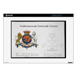 Crest of the King of the United Kingdom of Great B Laptop Decal
