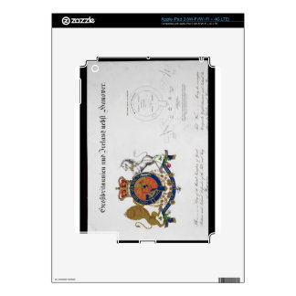 Crest of the King of the United Kingdom of Great B Skin For iPad 3
