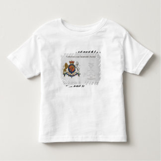 Crest of the King of the United Kingdom of Great B Toddler T-shirt