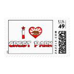 Crest Park, CA Postage Stamps