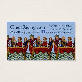 Crest Rising Business Card II