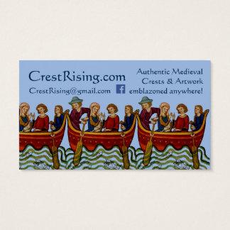 Crest Rising Business Card III
