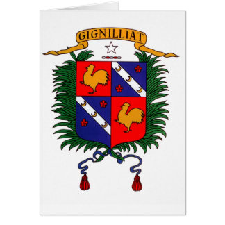 Crest - Robert Gignilliat Kenan Card