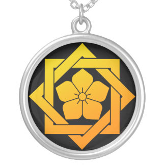 crest Ryoma Silver Plated Necklace