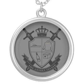 Crest Silver Plated Necklace