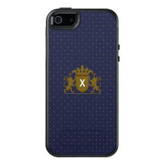 Crest with Changeable Monogram OtterBox iPhone 5/5s/SE Case