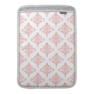 Cresta Damask Pattern (B) Pink Sleeve For MacBook Air