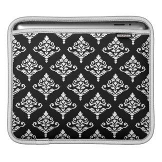Cresta Damask Pattern (B) White Sleeve For iPads