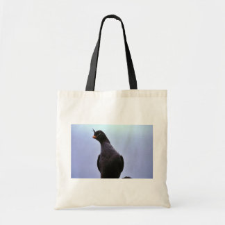 Crested Auklet Canvas Bags