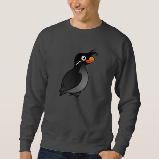 Crested Auklet Pullover Sweatshirt