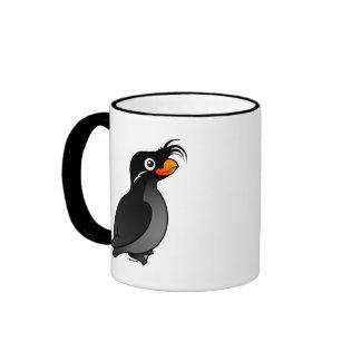 Crested Auklet Ringer Mug