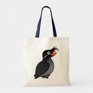 Crested Auklet Tote Bag