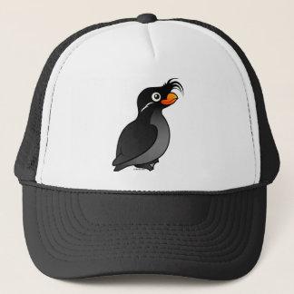 Crested Auklet Trucker Hat