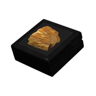 Crested Barite on Black Jewelry Box