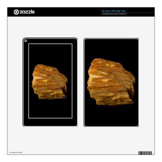 Crested Barite on Black Skin For Kindle Fire