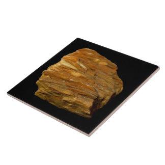 Crested Barite on Black Tile