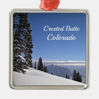 Crested Butte, CO Metal Ornament