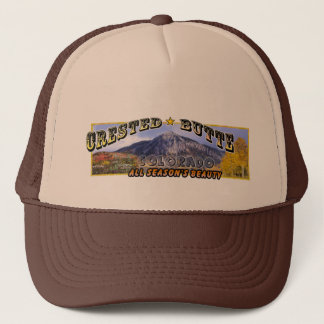 Crested Butte, CO Trucker Hat