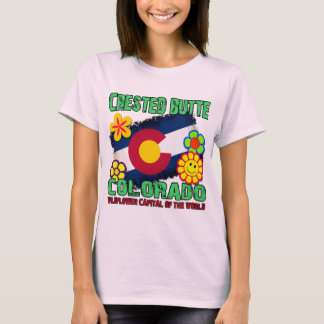 Crested Butte, Colorado Wildflower Capital T-Shirt
